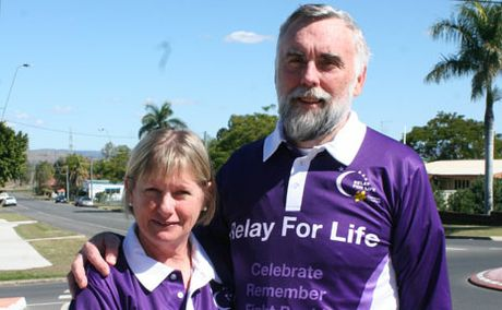 RELAY FACES: Biloela couple Di and Don Morris have been selected as the faces of the 2012 Banana Shire Relay for Life.