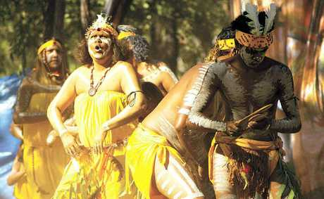 COMING TO CQ: Laura: Festival in Focus is a travelling exhibition of photographs of Cape York's Laura Aboriginal Dance Festival. This image was taken by Sarah Scragg in 2009.