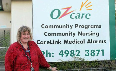 SATISFYING WORK: Janice Berry outside the Emerald Ozcare office.