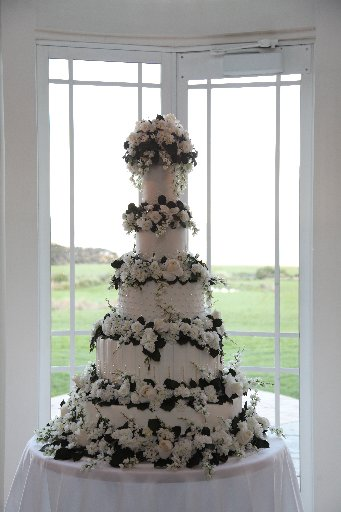 Wedding cakes can be a centrepiece for the whole day. 