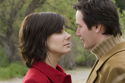 Sandra Bullock and Keanu Reeves in The Lake House. Give it a miss, people. Photo / File