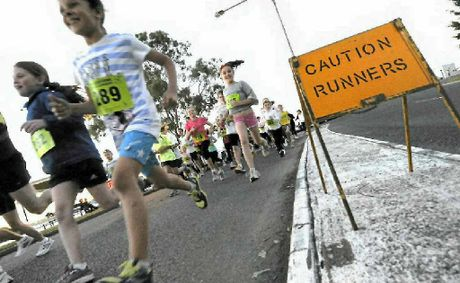 ON YOUR MARKS: The Gladstone Road Runners are getting ready for the Botanic to Bridge run later this month.