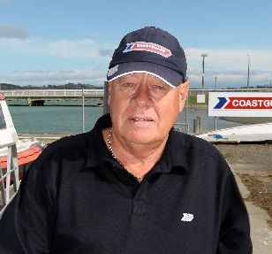 Hawkes Bay Volunteer Coastguard treasurer Peter Boshier