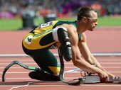 SOUTH Africa's Oscar Pistorius has apologised for the timing of his comments about the running blades used by new 200m gold medallist, Brazilian Alan Oliveira.