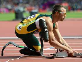 SOUTH African police have charged Olympic amputee sprint star Oscar Pistorius with the Valentine's Day murder of his glamorous model girlfriend.