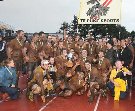 WE ARE THE CHAMPIONS: Te Puke Sports were premier winners in 2011 and secured their second title at the weekend.