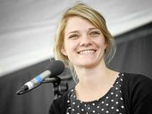 THREE years after sailing the world, Jessica Watson is still inspiring young people to reach for the stars.
