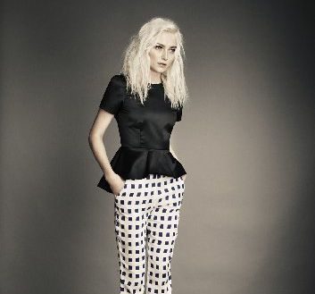 Mirrored crop trouser, $289