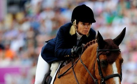 Edwina Tops-Alexander has moved into the final of the showjumping final.