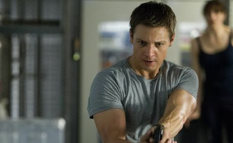 Jeremy Renner in a scene from the new movie &#39;Bourne&#39; movie, Bourne Legacy.