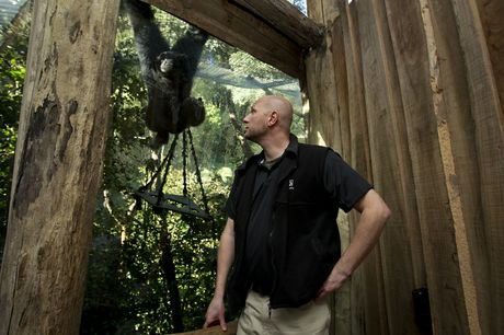 Auckland Zoo's life sciences manager Kevin Buley: worldwide conservation of animals is a key focus for the zoo these days.