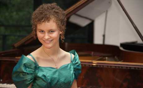 Student Ayesha Gough will host a recital later this month.