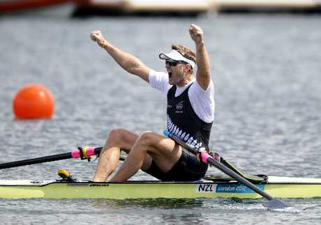 Golden Crew: Mahe Drysdale and the Kiwi rowers have set the country alight with their gutsy performances.