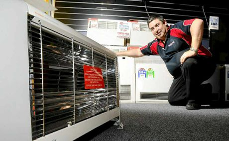 Despite recent near record-breaking overnight cold snaps, Retravision Grafton Manager said there hasn't been any major increase in heater sales.
