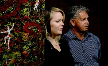 Aboriginal Legal Service solicitor Kate Biffin and field officer Avery Brown fear jail restructure will be harmful for the indigenous community.