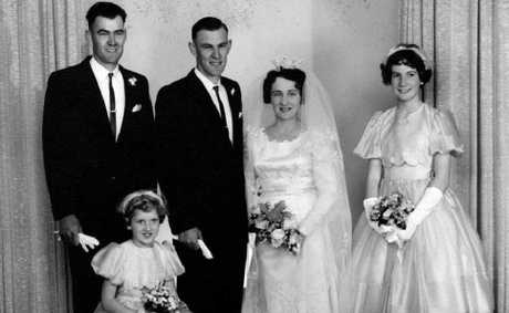 Bev and Merv Betts were married 50 years ago and have celebrated their golden wedding anniversary with family and friends.