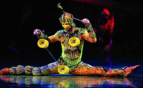 Brisbane will be the first stop for Cirque du Soleil.