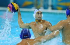 The Australian mens water polo team have been beaten 10-9 by three-time defending champions Hungary.