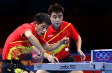China has completed a clean sweep of the table tennis competitions in London. 