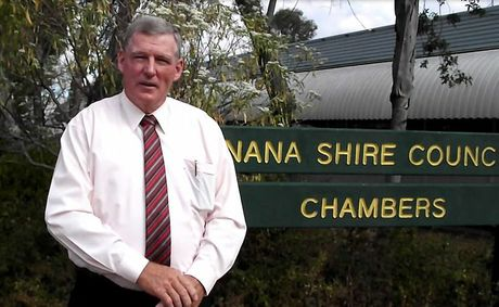 FRESH FACE: New Banana Shire Council Mayor Ron Carige. Photo Beth Young/The Observer