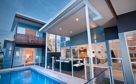This is just one of the beautiful homes of the Tweed Coast area. This Kingscliff home was offered as a prize home.