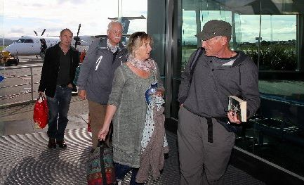 Dave and Kathleen Stark from CHB were unaware of Tuesday's disruptions after they arrived home from a holiday in London