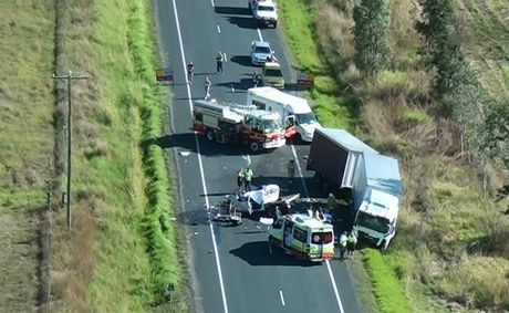 Four people died when a car collided with a truck at approximately 8.30am on August 10 near Calen, north of Mackay.