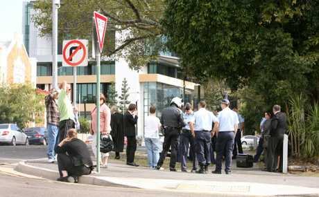 The Ipswich courthouse was evacuated on Thursday due to a bomb scare.