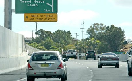 Motorists on the Pacific Hwy can no exit directly into Tweed Heads South with the opening of a new off-ramp.