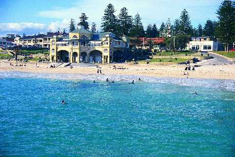 MAGNETIC: Cottesloe Beach is great for families.