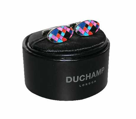 Duchamp cufflinks, $229, Working Style.