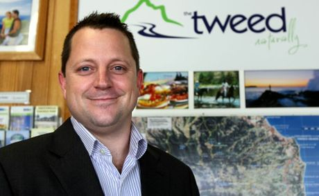 Bill Tatchell at the Murwillumbah visitor information cente. New CEO of Destination Tweed. Photo: John Gass / Daily News