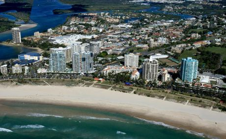 See the Tweed shire and Coolangatta from air in our new aerial poster series, starting in this Saturday's Daily News.