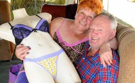 It was love at first camp site for Dolly Cordony and Kevin Leahy the pair will marry at the Muster on Wednesday.