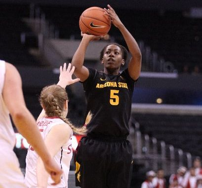 Arizona State University senior guard Deja Mann will take on Tauranga City men on Thursday at TECT Arena.