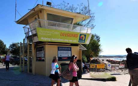 Noosa Lifeguard tower to be moved as part of boardwalk upgrade.