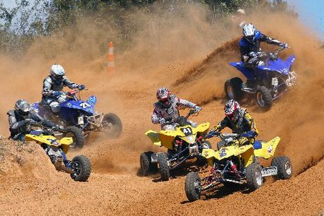 MUD SEASON: The dust is unlikely to be flying at Pongakawa this weekend but there will be plenty of quad bike racing action at the North Island ATV Champs.