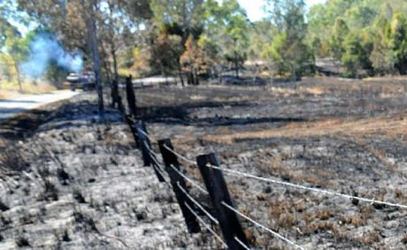 Repeated frosts have provided plenty of potential fuel for bushfires.