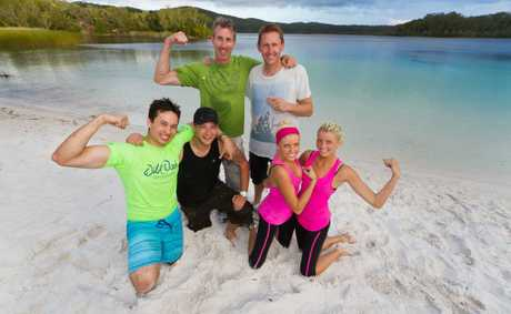 'The Amazing Race Australia' grand final ends at Fraser Island.