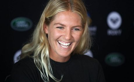 Women's world surfing champ Stephanie Gilmore.