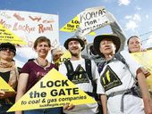 RAISING awareness about the dangers of coal seam gas was the reason for Croftby residents walking from the NSW border to Swanbank.