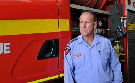 Mackay fire station officer Darryl Voss has attended many fatal incidents in his line of work.