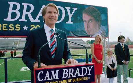 Will Ferrell stars as Cam Brady in The Campaign