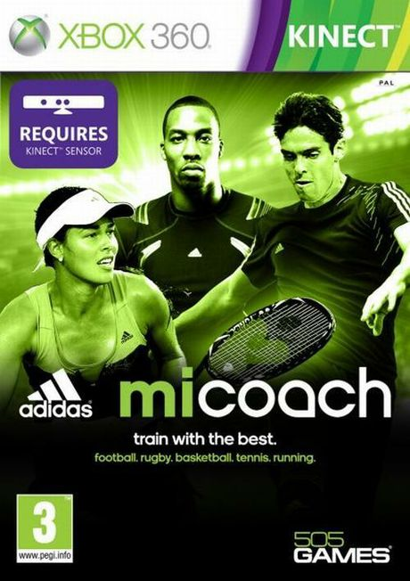 adidas miCoach is way too busy for a Kinect game