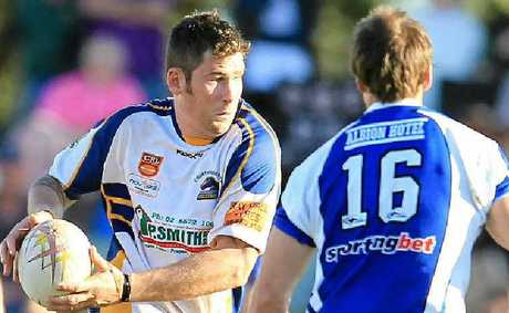 Lynden Murphy on the boil. The tall prop forward is poised to have a big one against arch-rivals Grafton Ghosts in tomorrow's major semi-final at Murwillumbah's Stan Sercombe Oval.