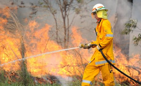 RFS Superintendent Cook says residents are lighting fires to burn off vegetation without putting in place adequate safety measures.
