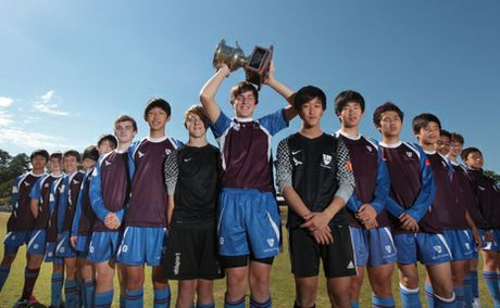 TRAINING HARD: The John Paul College under 15s soccer team have been training extra hard for when they compete in the Bill Turner Cup competition next month.