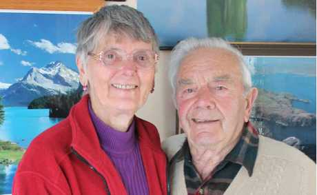 TOGETHER: Jeanene Chapman and Gino Zanatta have been together for 28 years and love travelling.