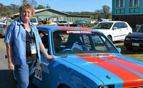Leyburn Sprints president Ann Collins has been involved in the event for the past 17 years.