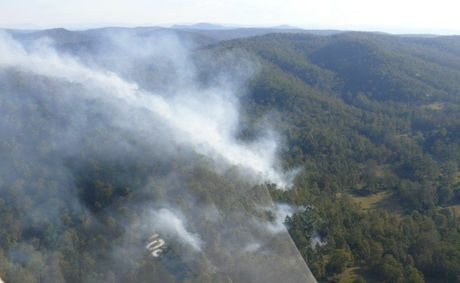 Bushfires could be problematic over the weekend.